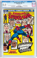 Bronze Age (1970-1979):Superhero, The Amazing Spider-Man #121 (Marvel, 1973) CGC VF 8.0 White pages....
