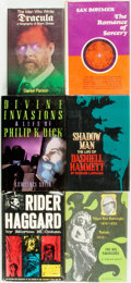 Books:Biography & Memoir, [Biography/Genre Literature]. Group of Six Biographies of ScienceFiction and Fantasy Authors. Various publishers and dates....(Total: 6 Items)