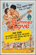 """Movie Posters:Rock and Roll, Summer Love (Universal International, 1958). One Sheet (27"""" X 41"""").Rock and Roll.. ..."""