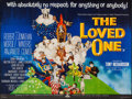 "Movie Posters:Comedy, The Loved One (MGM, 1965). British Quad (30"" X 40""). Comedy.. ..."
