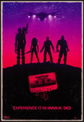 "Movie Posters:Science Fiction, Guardians of the Galaxy (Walt Disney Pictures, 2014). IMAX Poster(13"" X 19""). Science Fiction.. ..."