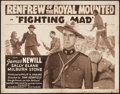 """Movie Posters:Adventure, Fighting Mad (Screencraft Pictures, R-1940s). Half Sheet (22"""" X28""""). Adventure.. ..."""
