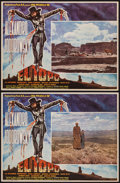 """Movie Posters:Western, El Topo (Panic S.A., 1971). Mexican Lobby Cards (2) (12.25"""" X 16.25""""). Western.. ... (Total: 2 Items)"""