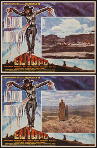 """El Topo (Panic S.A., 1971). Mexican Lobby Cards (2) (12.25"""" X 16.25""""). Western. ... (Total: 2 Items)"""