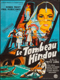 "Movie Posters:Adventure, Journey to the Lost City (Imperia, 1960). French Affiche (23.5"" X31.5""). Adventure.. ..."