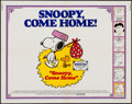 "Movie Posters:Animation, Snoopy, Come Home! (National General, 1972). Half Sheet (22"" X28""). Animation.. ..."