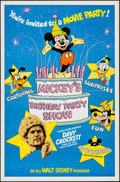"""Movie Posters:Animation, Mickey's Birthday Party Show & Others Lot (Buena Vista, 1978).One Sheets (4) (27"""" X 41""""). Animation.. ... (Total: 4 Items)"""