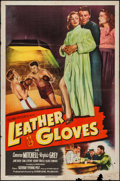 "Movie Posters:Sports, Leather Gloves & Other Lot (Columbia, 1948). One Sheet (27"" X 41"") & Title Lobby Card (11"" X 14""). Sports.. ... (Total: 2 Items)"
