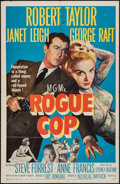 "Movie Posters:Crime, Rogue Cop (MGM, 1954). One Sheet (27"" X 41"") and Lobby Card Set of8 (1"" X 14""). Crime.. ... (Total: 9 Items)"