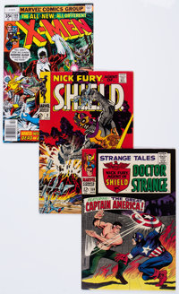 Marvel Silver and Bronze Age Comics Group (Marvel, 1960s-70s) Condition: Average VF.... (Total: 12 Comic Books)