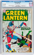Silver Age (1956-1969):Superhero, Green Lantern #1 (DC, 1960) CGC GD 2.0 Cream to off-white pages....