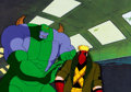 Animation Art:Production Cel, WildC.A.T.s Maul and Grifter Production Cel (Nelvana,1994)....
