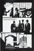 Original Comic Art:Panel Pages, Mike Mignola and John Nyberg Bram Stoker's Dracula #3 Page21 Original Art (Topps, 1992)....