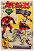Silver Age (1956-1969):Superhero, The Avengers #2 (Marvel, 1963) Condition: GD+....