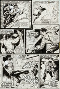 Original Comic Art:Panel Pages, Billy Graham and Syd Shores Hero for Hire #4 Page 18Original Art (Marvel, 1972)....