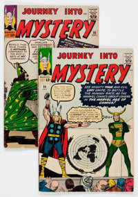 Journey Into Mystery #94 and 96 Group (Marvel, 1963) Condition: Average VG-.... (Total: 2 Comic Books)