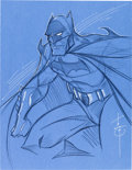 Original Comic Art:Splash Pages, Tom Hodges Batman Pin-Up Original Art (undated).. ...