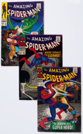 Silver Age (1956-1969):Superhero, The Amazing Spider-Man Group (Marvel, 1966-73) Condition: Average VG-.... (Total: 43 Comic Books)