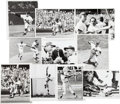 Baseball Collectibles:Photos, 1969 New York Mets Photograph Collection Lot of 40....