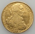 Chile, Chile: Charles IV gold 8 Escudos 1805 So-FJ VF - Cleaned,...