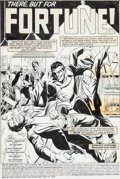 Original Comic Art:Splash Pages, Jim Mooney Web of Spider-Man #10 Splash Page 1 Original Art(Marvel, 1986)....