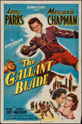 """Movie Posters:Swashbuckler, The Gallant Blade (Columbia, 1948). One Sheet (27"""" X 41""""). Swashbuckler.. ..."""