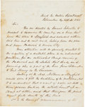 Autographs:Military Figures, Confederate General William W. Mackall Autograph Letter Signed...
