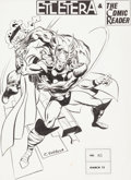 Original Comic Art:Covers, Rich Buckler Etcetera & The Comic Reader #83 Thor CoverOriginal Art (Paul Levitz, 1972)....