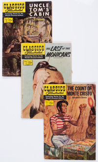 Classics Illustrated Group (Gilberton, 1946-59) Condition: GD/VG.... (Total: 49 Comic Books)