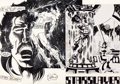 """Original Comic Art:Complete Story, Mike Grell Starslayer #1 Complete 25 Page Story """"The Legend of Starslayer"""" Original Art (Pacific Comics, 1982).... (Total: 23 Items)"""
