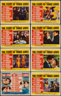 "The Story of Three Loves (MGM, 1953). Lobby Card Set of 8 (11"" X 14""). Romance. ... (Total: 8 Items)"