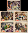 "Movie Posters:Adventure, Arabian Nights (Universal, 1942). Lobby Cards (5) (11"" X 14"").Adventure.. ... (Total: 5 Items)"