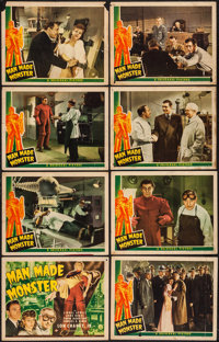 """Man Made Monster (Universal, 1941). Lobby Card Set of 8 (11"""" X 14""""). Horror. ... (Total: 8 Items)"""
