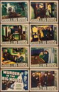 """Movie Posters:Crime, Murder in the Big House (Warner Brothers, 1942). Lobby Card Set of8 (11"""" X 14""""). Crime.. ... (Total: 8 Items)"""