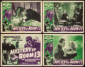 """Movie Posters:Mystery, Mystery of Room 13 (Film Alliance, 1938). Title Lobby Card &Lobby Cards (3) (11"""" X 14""""). Mystery.. ... (Total: 4 Item)"""