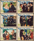 "Movie Posters:Crime, Night in New Orleans (Paramount, 1942). Lobby Cards (6) (11"" X14""). Crime.. ... (Total: 6 Items)"