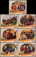 """Movie Posters:Western, Lightning Carson Rides Again (Victory, 1938). Lobby Cards (7) (11"""" X 14""""). Western.. ... (Total: 7 Items)"""