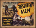 """Movie Posters:Documentary, Forgotten Men (Jewel Productions, 1933). Title Lobby Card (11"""" X 14""""). Documentary.. ..."""