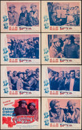 "Movie Posters:War, The Fighting 69th (Dominant Pictures, R-1956). Lobby Card Set of 8(11"" X 14""). War.. ... (Total: 8 Items)"