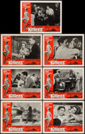 "Movie Posters:Crime, The Killers (Universal, 1964). Lobby Cards (7) (11"" X 14""). Crime..... (Total: 7 Items)"