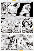 Original Comic Art:Panel Pages, John Buscema and Joe Sinnott Thor #238 Page 26 Original Art (Marvel, 1975)....