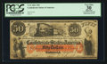 Confederate Notes:1861 Issues, T15 $50 1861 PF-1 Cr. 79.. ...