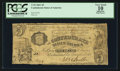 Confederate Notes:1861 Issues, T35 $5 1861 PF-1 Cr. 271.. ...