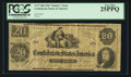 Confederate Notes:1862 Issues, T47 XX-2 $20 1862 PF-1 Cr. 245.. ...