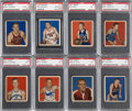 Basketball Cards:Lots, 1948 Bowman Basketball PSA Collection (11). ...