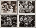 """Movie Posters:Foreign, The End of the River (Universal International, 1948). Photos (4) (8"""" X 10"""") & Uncut British Pressbook (16 Pages, 12"""" X 14"""").... (Total: 5 Items)"""