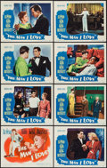 "Movie Posters:Crime, The Man I Love (Warner Brothers, 1947). Lobby Card Set of 8 (11"" X14""). Crime.. ... (Total: 8 Items)"