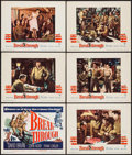 "Movie Posters:War, Breakthrough (Warner Brothers, 1950). Title Lobby Card & LobbyCards (5) (11"" X 14""). War.. ... (Total: 6 Items)"
