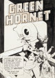 "Jerry Robinson and George Roussos Green Hornet Comics #25 Complete 10-Page Story ""The Slant Eye of Satan"" Orig..."