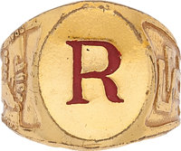 Radio Little Orphan Annie Secret Guard Signet Ring (1941) Condition: NM